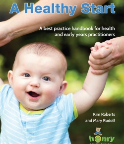 A healthy start book by Kim Roberts